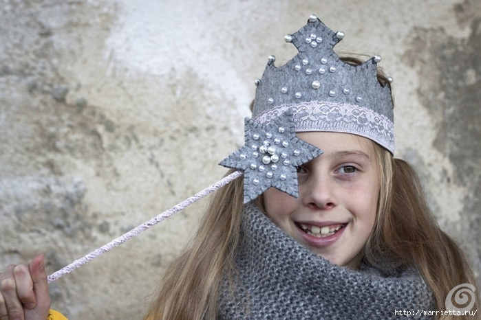 Аксессуары для карнавала. Корона для маленькой феи (2) (700x466, 227Kb)