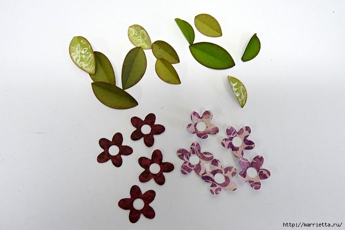 Декоративная рамка с цветущим деревом (2) (700x466, 196Kb)