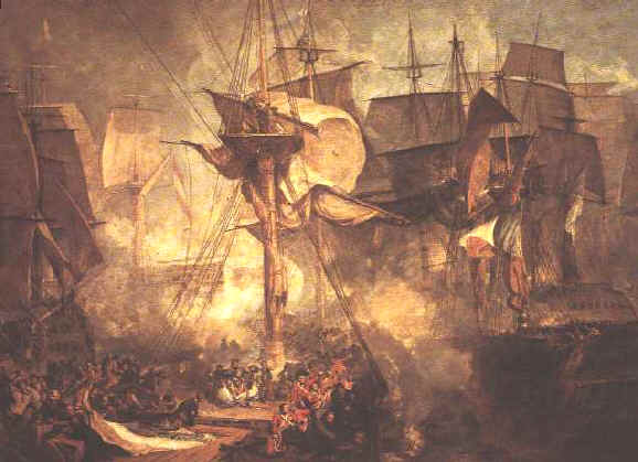 13 Turner,_The_Battle_of_Trafalgar_(1806) (578x419, 30Kb)