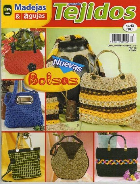 идеи вязаных сумок самое интересное в блогах