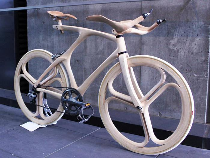 японский дизайнера Йоджиро Осима велосипед