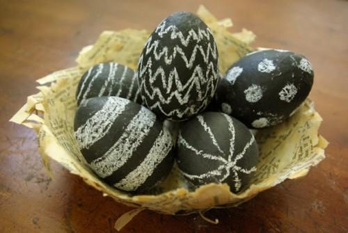 Пасхальный декор яиц