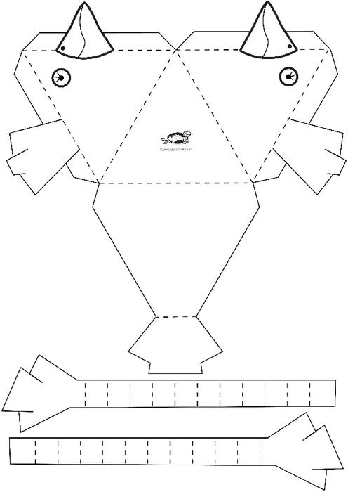 Поделки из бумаги и картона схема Поделки из бумаги и картона для детей