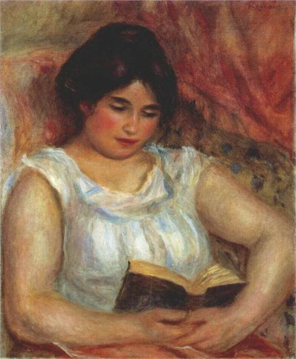 Габриэль чтения, 1906 (579x700, 51Kb)