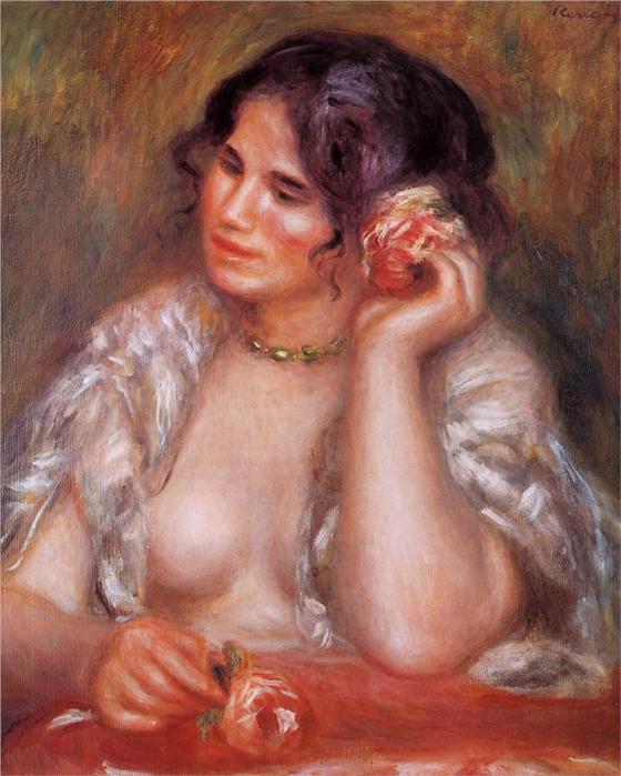 Женский портрет, 1911 (560x700, 59Kb)