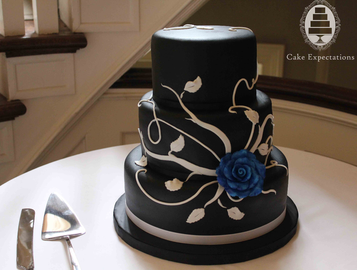 black-and-white-rose-wedding-cake (700x529, 308Kb)