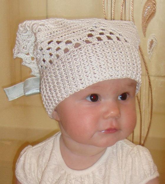 Yardtechi Вяжем шапочки и косынки крючком для детей