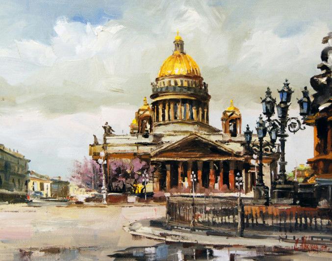 Картинки по запросу художник акварель Сергей Алексеев