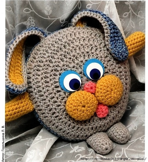 Мастер-класс по вязаному зайчику - Вязаные игрушки.
