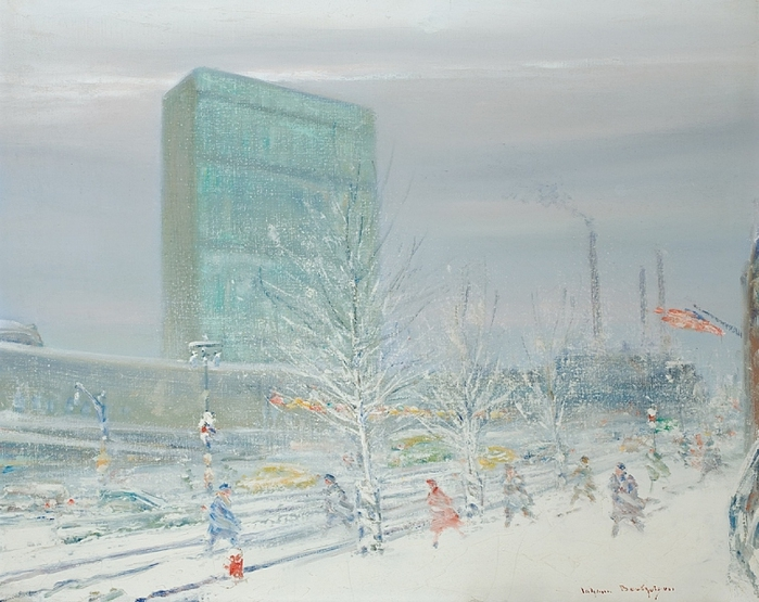 Winter, Near The United Nations (700x555, 270Kb)