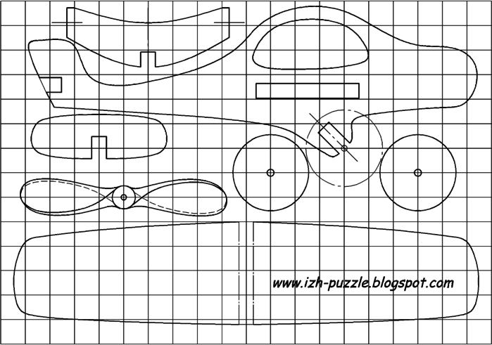 Самолёт из фанеры своими руками по чертежам
