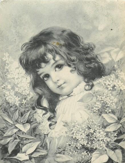 Картинки для декупажа дети черно белые