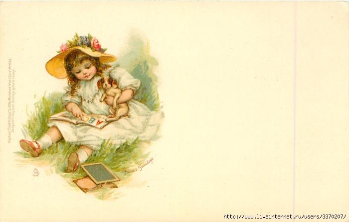 Военные открытки с детьми