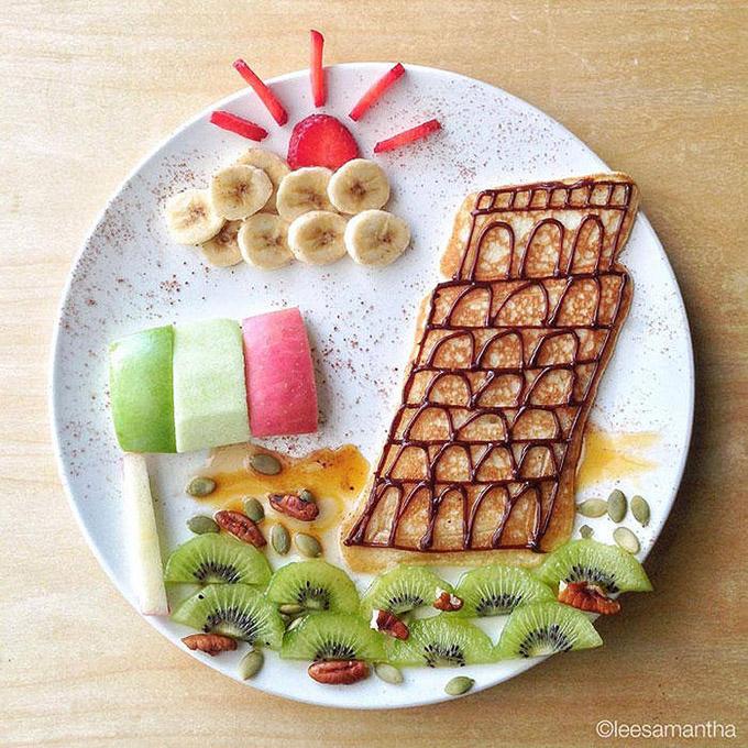 Кулинарные картины Саманты Ли