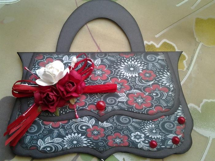 Открытки в виде сумок