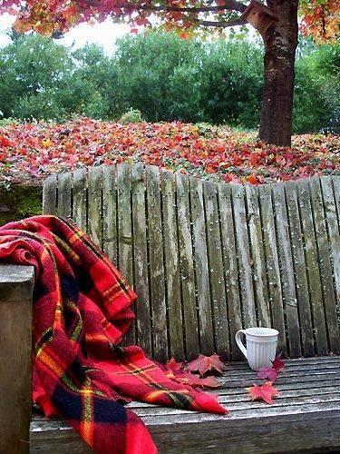 кофе осень