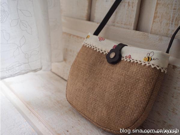 0ab6b36ecf0b Элегантная сумочка из мешковины. Шьем сами (1) (599x449, 117Kb)