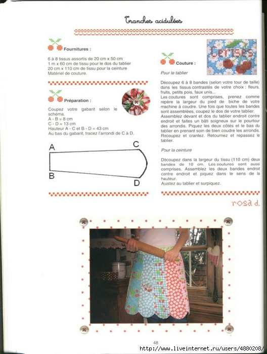 Point de Croix Bourguignon Petites cuisines entre brodeuses . Обсуждение на LiveInternet ...