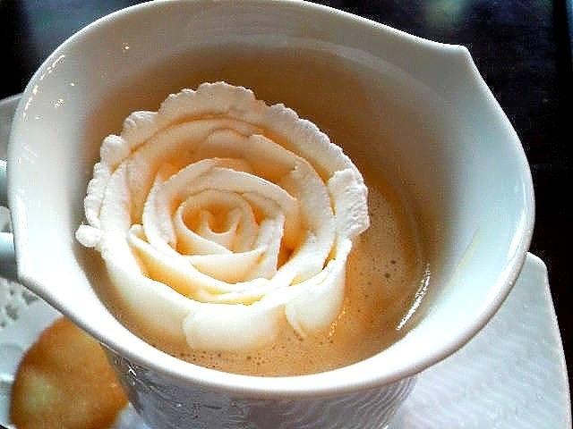 кофе гляссе роза