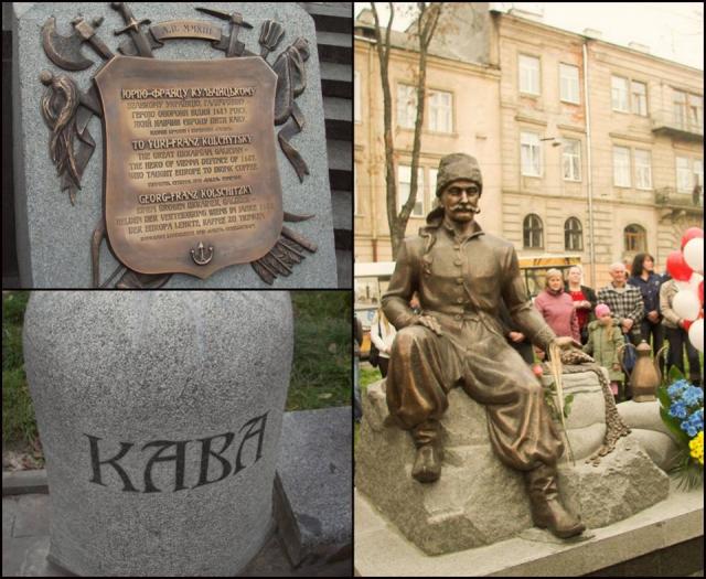 22 октября, во львовском сквере возле кукольного театра был открыт памятник Юрию-Францу Кульчицкому.