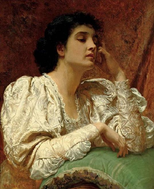 Oh for the Touch of a Vanished Hand, by Charles Edward Perugini (537x660, 65Kb)