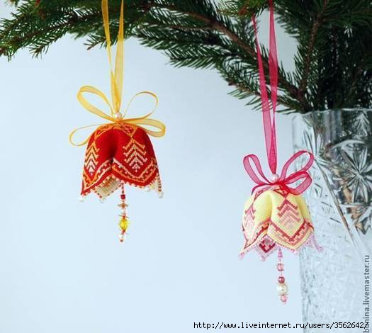 DIY-Fabric-Bell-Ornaments (525x470, 95Kb)