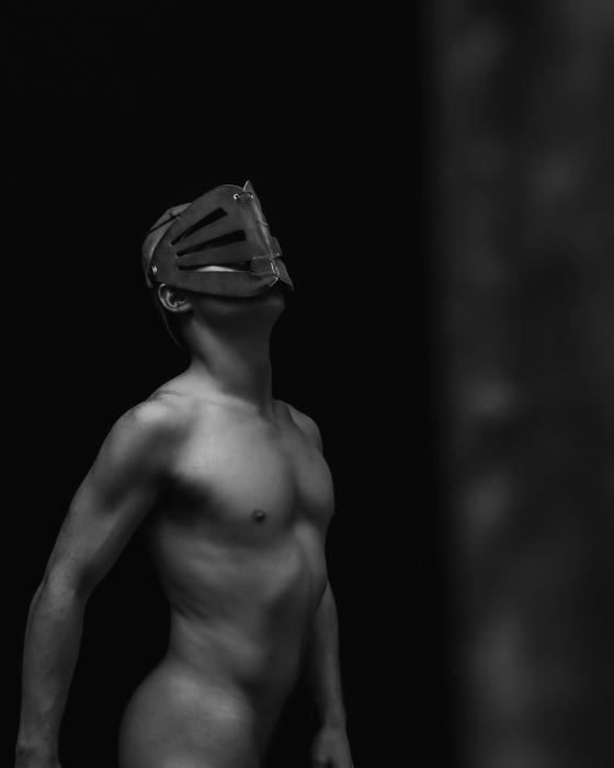 Два парня в масках
