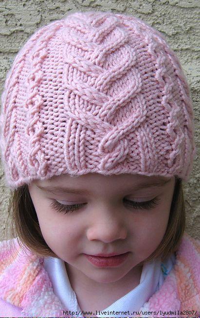 детские шапочки спицами записи в рубрике детские шапочки спицами