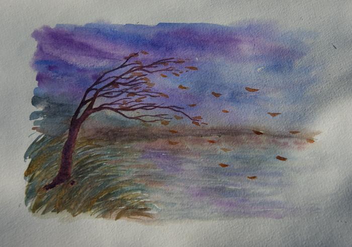 Красочно сделать, картинки на тему дождь и ветер