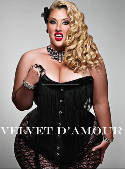 sizes models plus Velvet