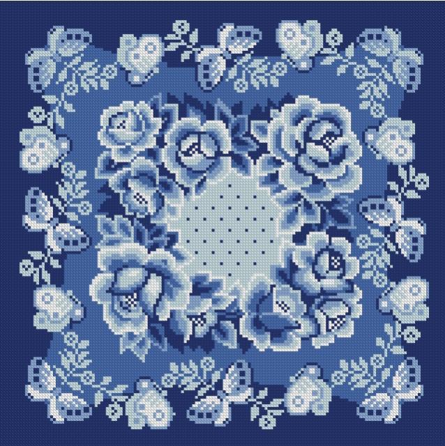 Вышивка на подушке крестом: схемы 94