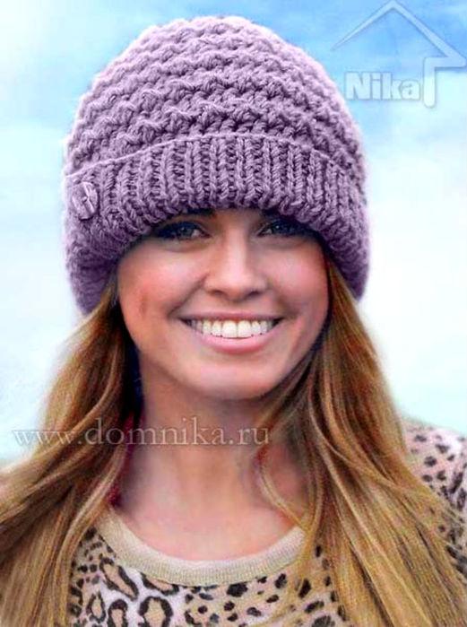 Женская шапка крючком. Обсуждение на LiveInternet ...