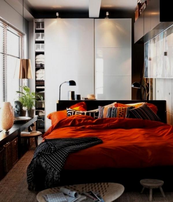 Маленькая спальня: как расставить мебель