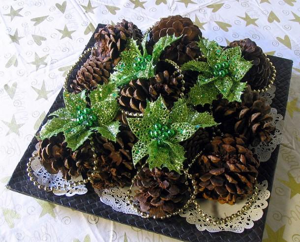 Новогодний декор из шишек - *Дремлющий Ветер