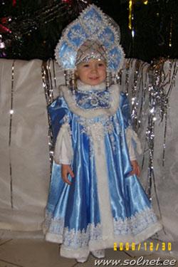 Детский новогодний костюм красной шапочки для девочки 27
