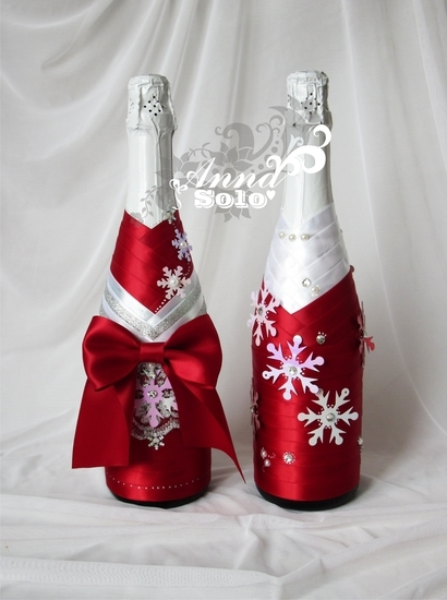 Шампанское для молодоженов своими руками фото 470