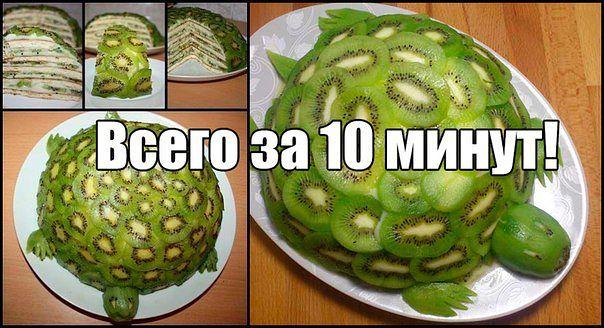 торт на сковороде изумрудная черепаха