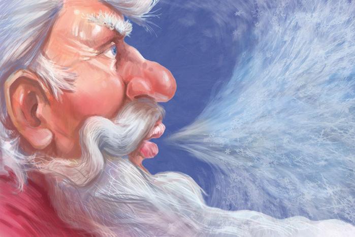 Баба Яга и Дед Мороз. Сергей Ворошилов. Обсуждение на LiveInternet -  Российский Сервис Онлайн-Дневников