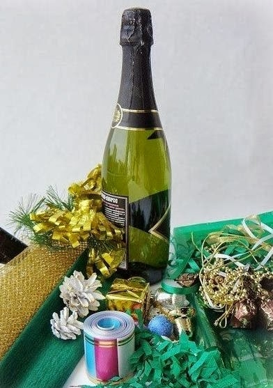 новогодняя упаковка и украшение бутылок (11) (392x557, 140Kb)