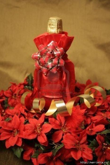 новогоднее украшение бутылок (1) (467x700, 210Kb)