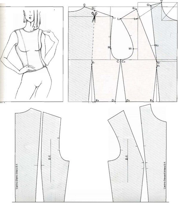 позже апина как изменить вытачку в рельеф фото деваха показывает округлые