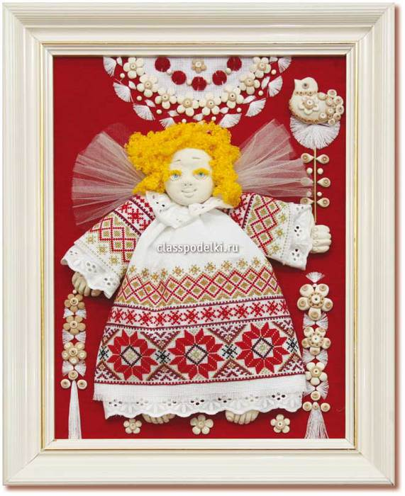 Великолепное подарочное панно своими руками к Дню Ангела. 9cbaf297fd831