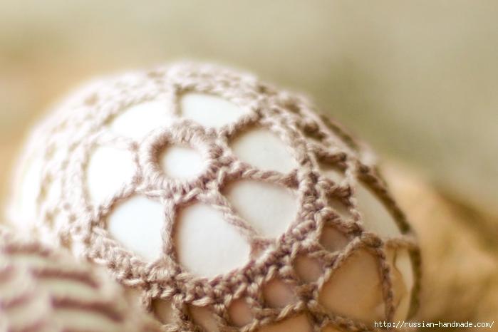 Как обвязать крючком пасхальное яйцо. Фото мастер-класс (1) (700x466, 198Kb)