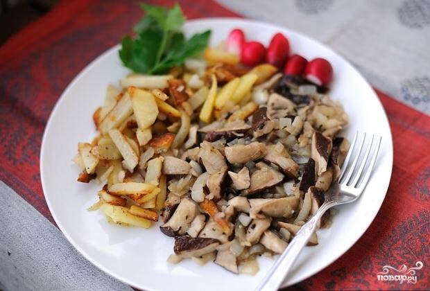 Что приготовить из грибов на ужин рецепты