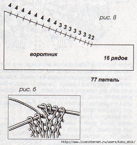 ажурные воротники вязанные крючком схемы светланы берсановой