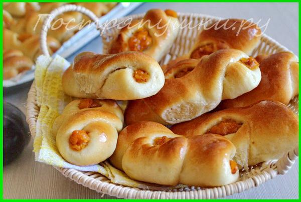 пирожки с сухофруктами рецепт с фото