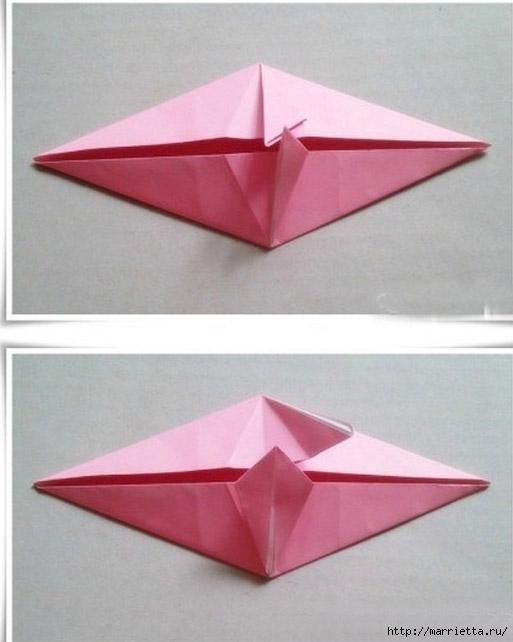 Японский мастер класс оригамие сделай сам #14