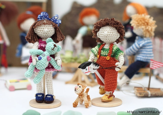 Миниатюрные игрушки амигуруми от FancyKnittles (28) (570x404, 146Kb)