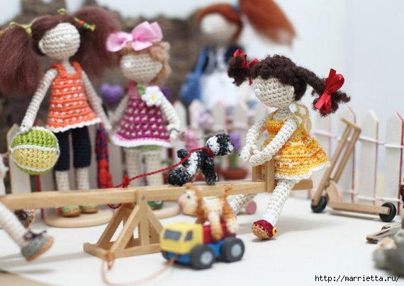 Миниатюрные игрушки амигуруми от FancyKnittles (34) (570x404, 138Kb)