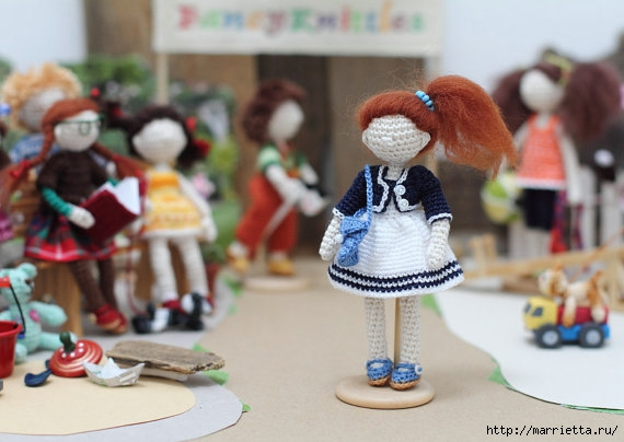 Миниатюрные игрушки амигуруми от FancyKnittles (36) (570x404, 127Kb)